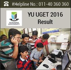 YU UGET 2016 Result