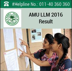AMU LLM 2016 Result