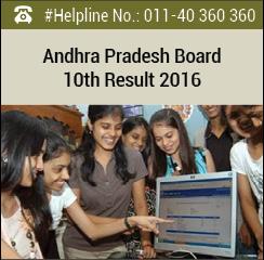 Andhra Pradesh Board 10th Result 2016