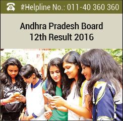 Andhra Pradesh 12th Result 2016