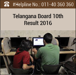 Telangana Board 10th Result 2016
