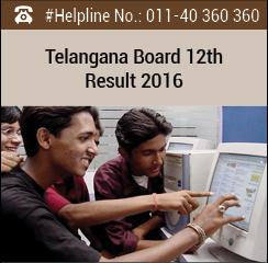 Telangana Board 12th Result 2016