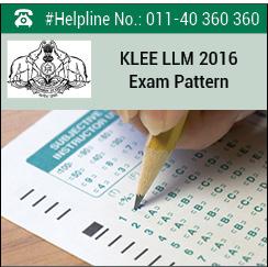KLEE LLM 2016 Exam Pattern