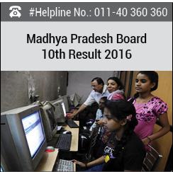 Madhya Pradesh Board 10th Result 2016