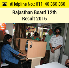 Rajasthan Board 12th Result 2016