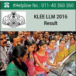KLEE LLM 2016 Result