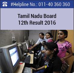 Tamil Nadu Board 12th Result 2016