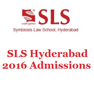 SLS Hyderabad announces Law Admissions 2016; Register before April 14