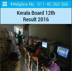 Kerala Board 12th Result 2016