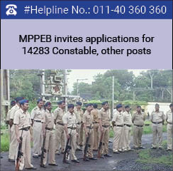 MPPEB invites applications for 14283 Constable, other posts