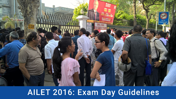 AILET 2016: Exam Day Guidelines