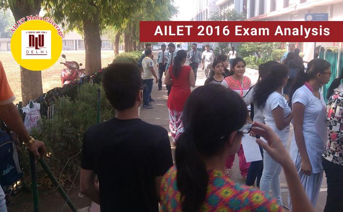 AILET 2016 Exam Analysis