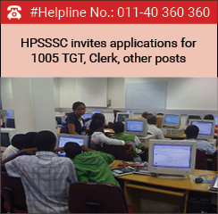 HPSSSC invites applications for 1005 TGT, Clerk, other posts
