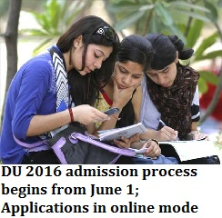 DU 2016 Admissions begin from June 1; Common online applications for all colleges including Stephens and JMC