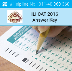 ILI CAT 2016 Answer Key