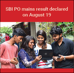 SBI PO mains result declared on August 19; 4770 qualified for GD PI