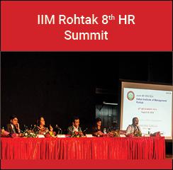 IIM Rohtak organizes 8th HR Summit on Evolving roles of HR in organizations