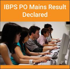IBPS PO/MT 2016 mains result declared
