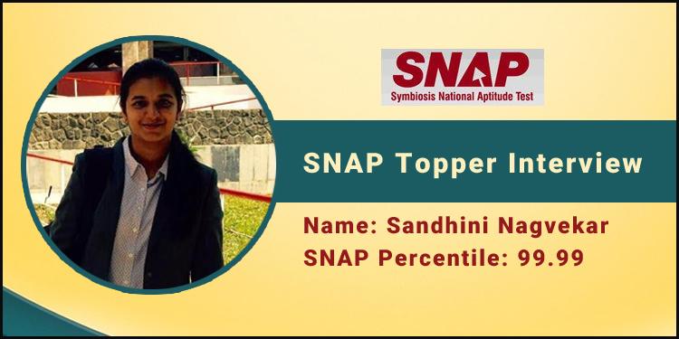 SNAP Topper Interview: Maximise speed and minimise error, says Sandhini Nagvekar, 99.99 percentiler