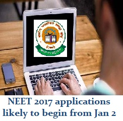NEET 2017: Applications likely to begin from Jan 2; exam on May 7