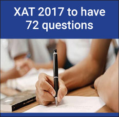 XAT 2017 to carry 72 questions; no change in overall pattern