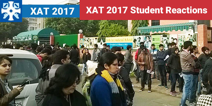 XAT 2017 - Student Reactions on exam day