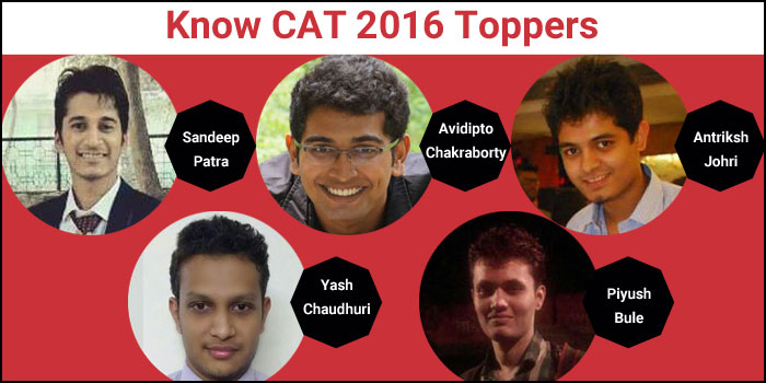 CAT 2016: Know the Topper Profiles of 99-100 percentilers