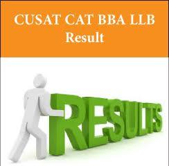 CUSAT CAT BBA LLB Result 2017