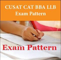 CUSAT CAT BBA LLB Exam Pattern 2017