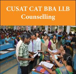 CUSAT CAT BBA LLB Counselling 2017