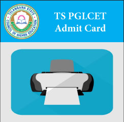 TS PGLCET Admit Card 2017
