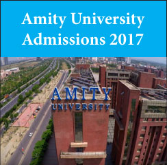Amity University announces MBA admissions 2017