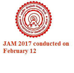 JAM 2017: IIT Delhi conducted admission test on Feb 12 in 63 cities