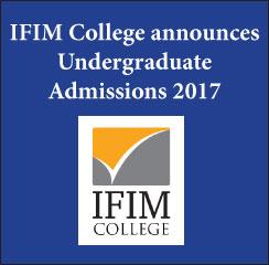 IFIM College announces B.Com admissions 2017