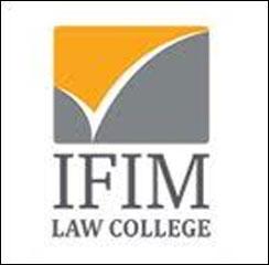 IFIM Law College announces Admission 2017
