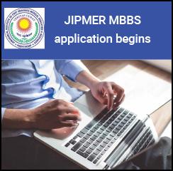 JIPMER MBBS 2017 application begins