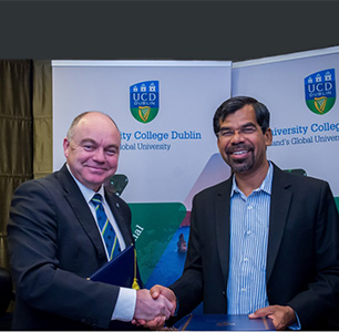 Loyola College Chennai signs MoU with University of Dublin