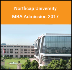 Northcap University announces MBA admission 2017