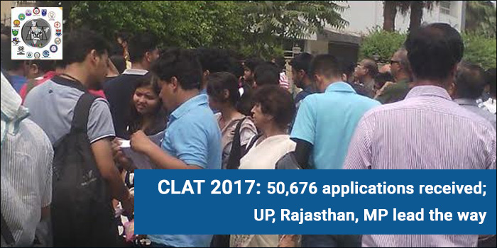 CLAT 2017: 50,676 applications received; UP, Rajasthan, MP lead the way