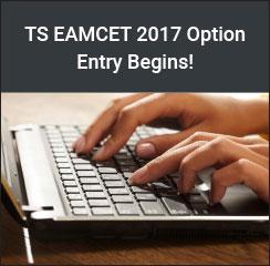 TS EAMCET 2017 Option Entry Begins!