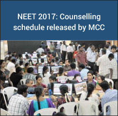 NEET 2017: Counselling process to begin from July 3