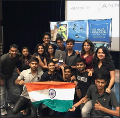 UPES grabs top position at global aerospace competition CanSAT 2017