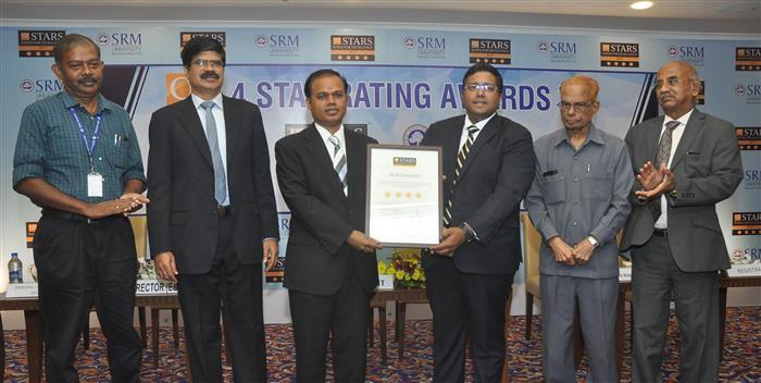 SRM University Awarded QS 4-Star Rating!