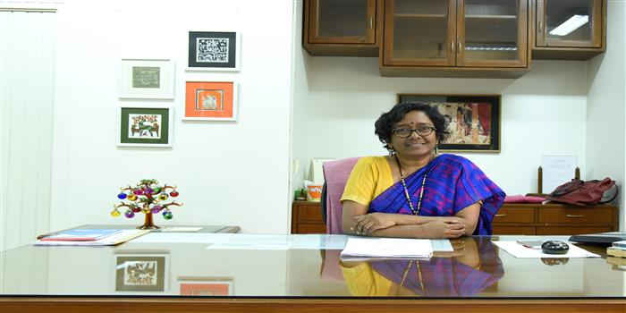 """""""For any Institution, it is important to be modern, relevant"""", says Sarada Muraleedharan, IAS, Director General, NIFT"""