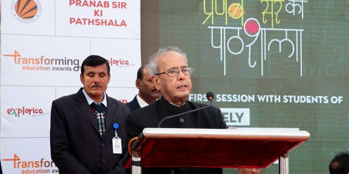Pranab Mukherjee conferred Education Awards' upon India's Best Schools and Teachers
