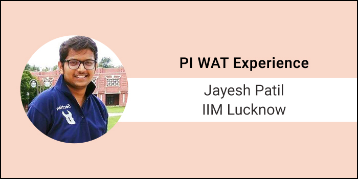 How to Crack PI-WAT: How Jayesh Patil of IIM Lucknow converted multiple IIM calls into final admission offers