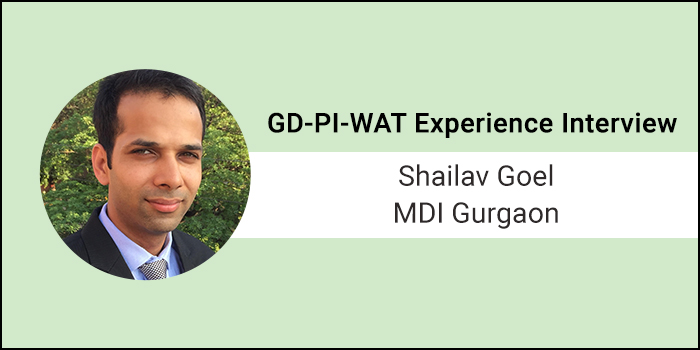 How to Crack GD-PI-WAT: Clarity of thoughts and genuine answers helped me clear interview round, says Shailav Goel of MDI Gurgaon