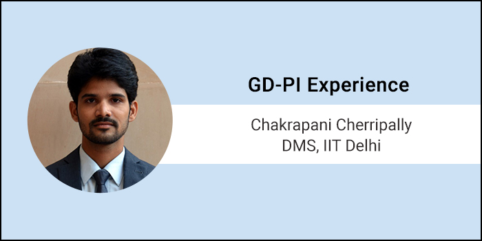 How to crack GD-PI: Panellists look for communication skills and clarity of thought, says Chakrapani C of DMS, IIT Delhi