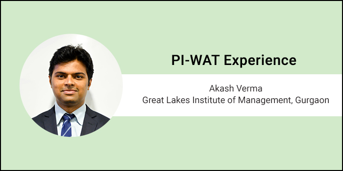 How to crack PI-WAT: Strategy and Time Management are must, says Akash Verma of Great Lakes Gurgaon
