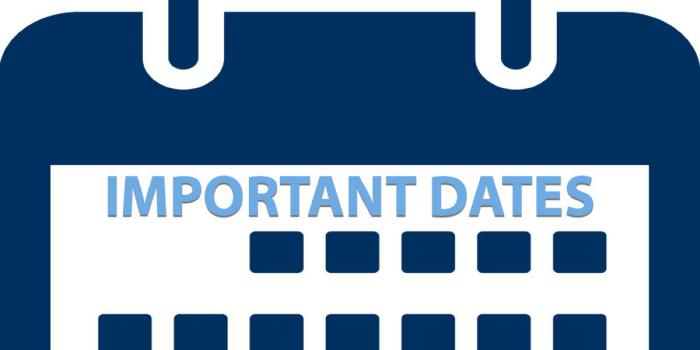 IPMAT Important Dates 2018
